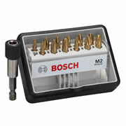Bosch 2607002578 Bosch 8 Piece 25mm Mixed Bit Set