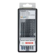 Bosch 2607010531 6 Piece Robust Line Jigsaw Blade Set - Progressor