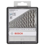 Bosch 2607010538 Bosch Robustline HSS-G Metal Drill Bit Set 13 Piece