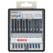 Bosch 2607010542 10 Piece Robust Line Jigsaw Blade Set - Wood And Metal