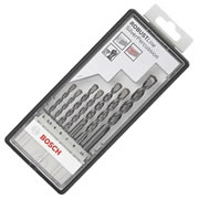 Bosch 2607010548 Bosch Robustline Silver Percussion Drill Bit Set 7 Piece