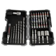 Bosch 2607017326 35 Piece PRO Mixed Screwdriver & Drill Bit Set for Concrete