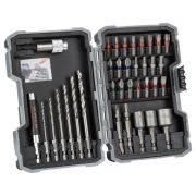 Bosch 2607017328 35 Piece PRO Mixed Screwdriver & Drill Bit Set for Metal