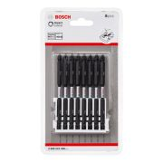 Bosch PZ/PH 110mm Double Ended Impact Screwdriver Bits - Pack of 8