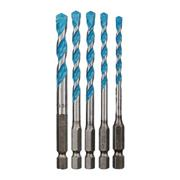 Bosch 2608590181 HEX-9 MultiConstruction Drill Bit 5 Piece Set