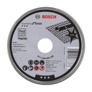 Bosch 2608603254 115mm x 1mm Standard for Inox Cutting Disc Straight Tin of 10