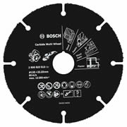 Bosch 2608623013 Bosch 125mm Carbide Multi Wheel For Mini Grinders 22.23mm Bore