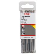 Bosch 2608833889 SDS+ 5X Hammer Drill Bit 5 x 50 x 110mm 10 Piece Set