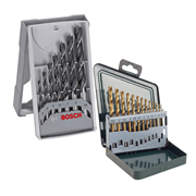 Bosch BOSAB002 HSS & Brad Point Drill Bit Pack
