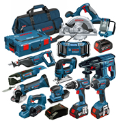 Bosch BAG12RS Bosch Robust Series 18v 12 Piece Kit