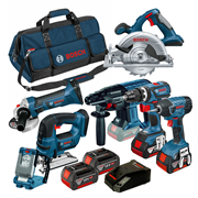 Bosch BAG7RSA Bosch Robust Series 18v 7 Piece Kit