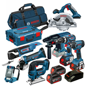 Bosch BAG8RSA Bosch Robust Series 18v 8 Piece Kit