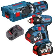 Bosch 12V GSB GDR Bosch 18v Dymanic Series Cordless Li-ion 2 Piece Kit