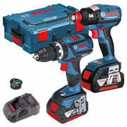 Bosch 12V GSB GDR Bosch 18v Dymanicseries Cordless Li-ion 2 Piece Kit