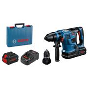 Bosch  Bosch GBH 18V-34 CF  Brushless BITURBO SDS-Plus with 2x 8Ah Batteries, Charger & Case