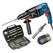 Bosch GBH1224DPK 3 Mode SDS+ Drill with Chuck and Bit Set