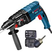 Bosch GBH 2-24 D KIT 3 Mode 2kg SDS Plus Rotary Hammer Drill with Accessory Set