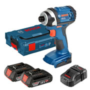 Bosch GDR 18-LI Bosch 18v Cordless Light Series Impact Driver