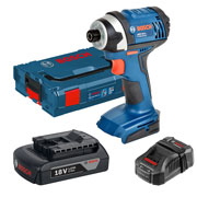 Bosch GDR 18-LI1 Bosch 18v Cordless Light Series Impact Driver
