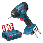 Bosch GDR18VLINCG Bosch 18v Li-ion Impact Driver (Body Only) with L-Boxx