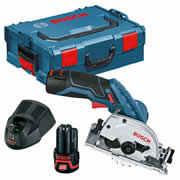 Bosch GKS 12V-26 12v 85mm Circular Saw with 2 x 2Ah Batteries, Charger and Case