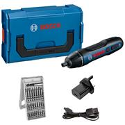 Bosch GO2KIT Bosch GO2KIT 3.6V Pencil Drill Driver with  25 Piece Accessory Set, Charger and Carry Case