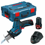 Bosch GSA 12V-14 12v Reciprocating Saw with 2 x 2Ah Batteries, Charger and Case