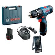 Bosch GSB 120 12v Li-ion Combi Drill with 2x 1.5Ah Batteries