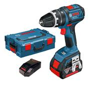 Bosch GSB18V211 18v Combi Drill with 1 x 4Ah Battery, Charger and Case