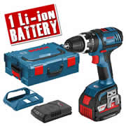 Bosch GSB 18 VLI 4W1 Bosch 18v Li-ion Hammer Drill Driver with Wireless Charging