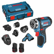 Bosch GSR 12V-15 FC 12v Drill Driver with 2 x 2Ah Batteries, Charger and Case