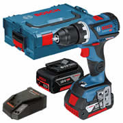 Bosch GSR 18V-60 C 18v Brushless Drill Driver with 2 x 5Ah Batteries, Charger and Case