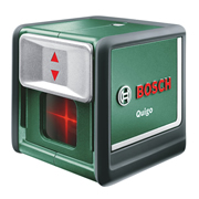 Bosch Green QUIGO Bosch Green Quigo Self-Levelling Cross Line Laser Level