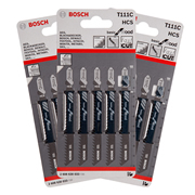 Bosch T111C Bosch Jigsaw Blades Coarse Cutting (Wood) - Pack of 15 Blades
