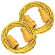 Brennenstuhl 1168463PK2 Brennenstuhl Extension Lead 2.5mm 14mtr (16 Amp 110 Volt) Pack of 2