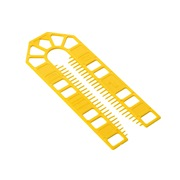 Broadfix  BROADFIX Standard U Shim 1mm Yellow - BOX OF 500