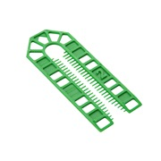 Broadfix  BROADFIX Standard U Shim 2mm Green - BOX OF 500