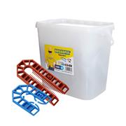 Broadfix  Broadfix Assorted U Packers - Tub of 300