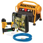 Bostitch (Stanley) MRC6U/2/IN1 Stanley Bostitch 6 Litre Roll Cage Compressor and Stapler/Brad Nailer