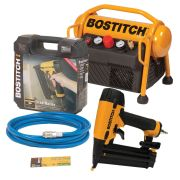 Bostitch (Stanley) MRC6/BT Stanley Bostitch 6 Litre Roll Cage Compressor and Brad Nailer Kit