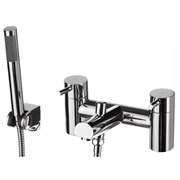 Cassellie DAL002 Dalton Solid Brass Bath Shower Mixer Tap - Polished Chrome