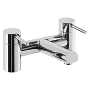 Cassellie DAL003 Dalton Solid Brass Bath Filler Tap - Polished Chrome