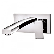 Cassellie FRM004 Form Wall Mounted Basin Tap