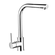Cassellie KTA007 Single Lever Mono Kitchen Sink Mixer Tap with Pull-Out Spray