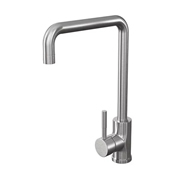 Cassellie KTA026 Single Lever Mono Kitchen Sink Mixer Tap - Stainless Steel