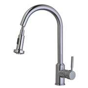 Cassellie KTAP2 Kitchen Mixer Tap with Pull-Out Rinse Spray