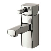 Cassellie NER001 Nero Mono Basin Mixer Tap with Click-Clack Waste