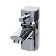 Cassellie NER001-S Nero Mini Mono Basin Mixer Tap with Click-Clack Waste