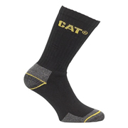 Caterpillar 14212611 Caterpillar Crew Work Socks 3 Pair Pack - Size 6-11