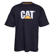 Caterpillar 25301BK Caterpillar Trademark Logo T-Shirt Black